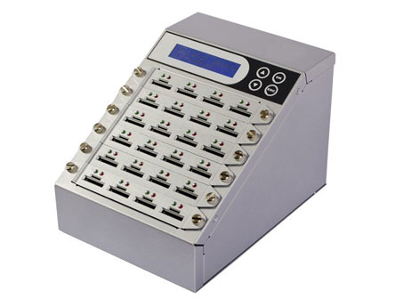 SD-/microSD-Karten Kopierer mit Monitoring Tool und LOG Report 63 Slots